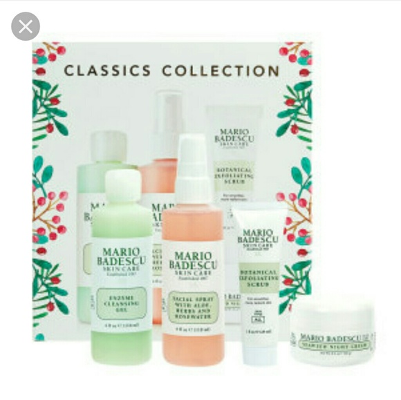 Mario Badescu Holiday Classics Collection Set Nwt